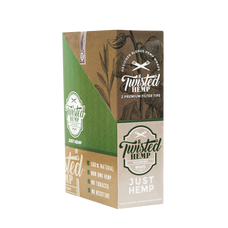 Twisted Just Hemp Flavor Designer Hemp Wraps - 2 Count Packs
