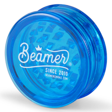 Beamer 63mm 3-Piece Virgin Acrylic Grinder - You Choose Color and Logo Design