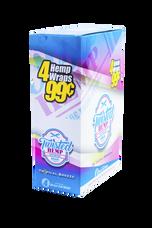 Twisted Tropical Breeze Flavor Hemp Wraps - 4 Count Packs