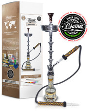 Beamer Silver Middle East Inspired Hookah