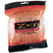 Zen Regular Cotton Filter Tips - 200-Count Bag
