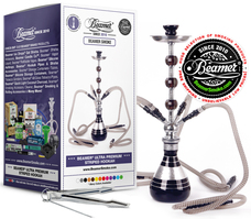 Beamer 4 Hose Striped Hookah