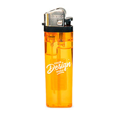 Custom Classic Lighters Designed by Beamer - 1 Color Print or 2 Color Print