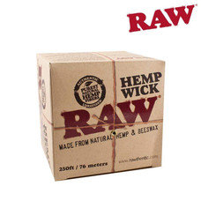 Raw 100 Foot Hemp Wick Spool