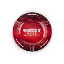 "Elements Metal Ashtray - Magnet Back - 5.5"""