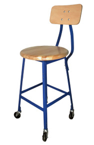 Bar Stool on Wheels