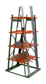 Vertical Storage Rack Double Sided