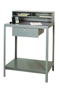 Quality foreman's desk for the garage or shop. American made from a 4th generation family owned business.  Lifetime structural warranty.