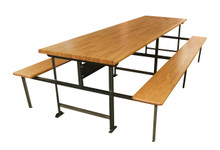 Lunch Table with Laminated Hardwood Top