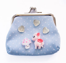 Make Your Own Designer Purse (Blue) - Unicorns & Rainbows