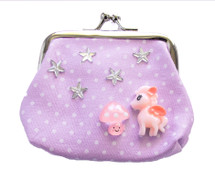 Make Your Own Designer Purse (Lilac) - Unicorns & Rainbows