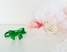 Baby Sequin Bow Headband - Green