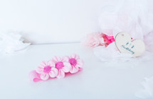 Pink Petite Floral Headband