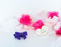 Baby Sequin Bow Headband - Purple