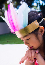 Make Your Own Feather Crown