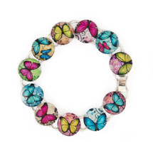 Make Your Own Bracelet Kit (Butterflies)