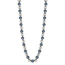 Denim Lily Rose Necklace (N1515)-$199