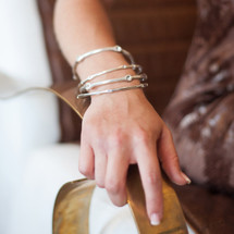 Petite Back to Basics Bangle (B1181)-$49