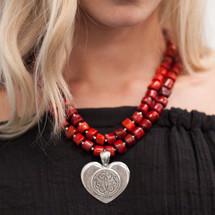 Tre Jolie Heart Pendant (EN781)