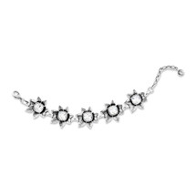 Crystal Zinnia Bracelet (B1474)-$119