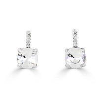 Petite Crystal Premier Drop Earrings (E4207)-$69