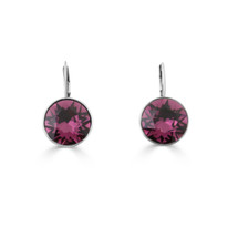 Midnight Rose Drop Earrings (E4217)