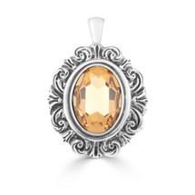 Once Upon A Time Topaz Pendant (EN1628)