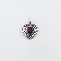 Swarovski® crystal Heart Pendant (EN1174)