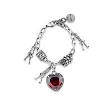 Treasured Heart Bracelet (B1507)