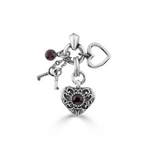 Wish Upon a Heart Pendant (EN1661)