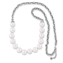 Kirstie Pearl Chain Necklace (N1980)-$139