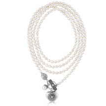 Paisley Pearl Necklace (N1972)-$169