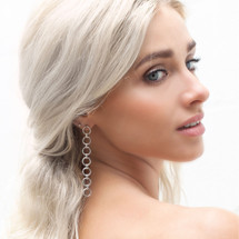 All About The Chain Earrings (E4238)