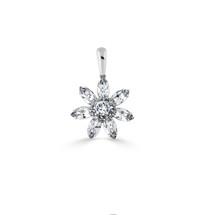 Crystal Daisy Pendant (EN1653)-$99
