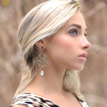 Tuscany Crystal Chandelier Earrings (E4442)