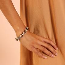 Bold Heritage Bracelet (B1306)-$89