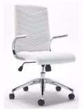 Baresi White Executive Chair