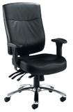 Marathon Leather Heavy Duty Task Chair