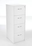 Sorrento 4 Drawer Wooden Filing Cabinet