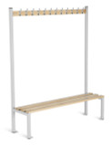 Cloakroom Equipment Island Bench Seating - Single (ET)