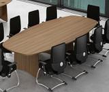 EX10 Rectangular Boardroom Meeting Room Table (FOG)