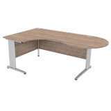 Atmosphere Crescent Conference Desk Cantilever Leg