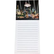 Las Vegas Magnetic Notepad Black Spotlights