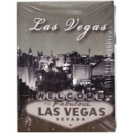 Small Las Vegas Photo Album Black&White Design