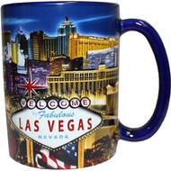 """LV Souvenir Mug """"Embossed Design"""" -Strip 16oz."""