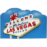 Magnet Las Vegas Welcome Blue Sky Acrylic Souvenir