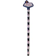 Las Vegas Souvenir Welcome Sign Pencil w/Topper