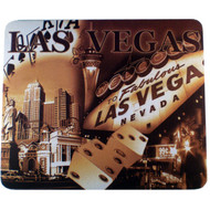 Brown Las Vegas Mousepad Icons Scenes
