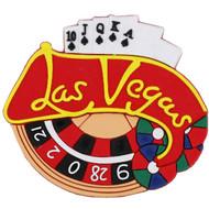 Las Vegas Rubber Magnet-Roulette