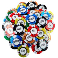 Bulk Chocolate Poker Chips-10lbs